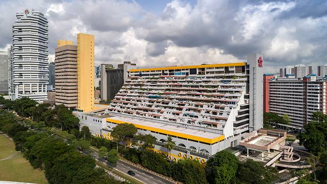 Golden Mile Complex en bloc