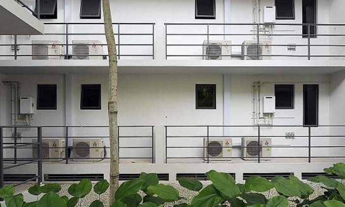 La Fiesta air-con ledge property developers