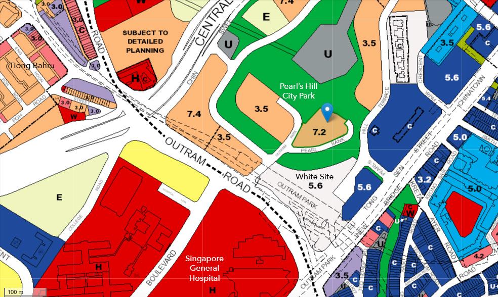 Outram Park future development URA