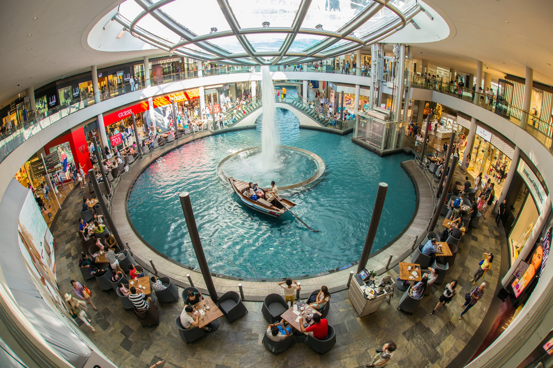 The Shoppes at Marina Bay Sands worst mall Singapore