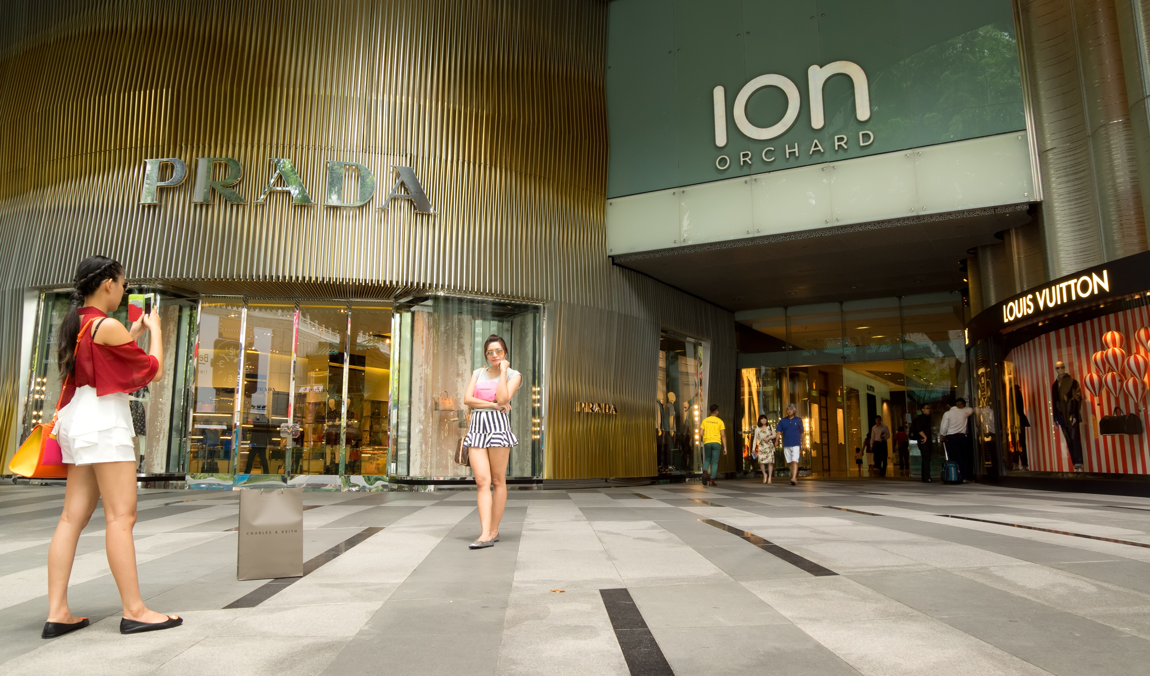 Front of Ion Orchard