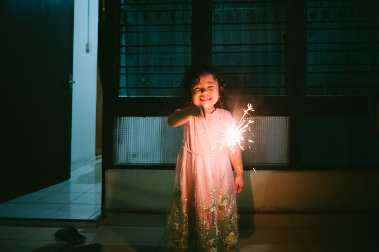 child who sparks joy