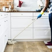Mopping cleaning service to give the place a fresh new look
