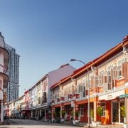 Commercial properties along Keong Saik Road