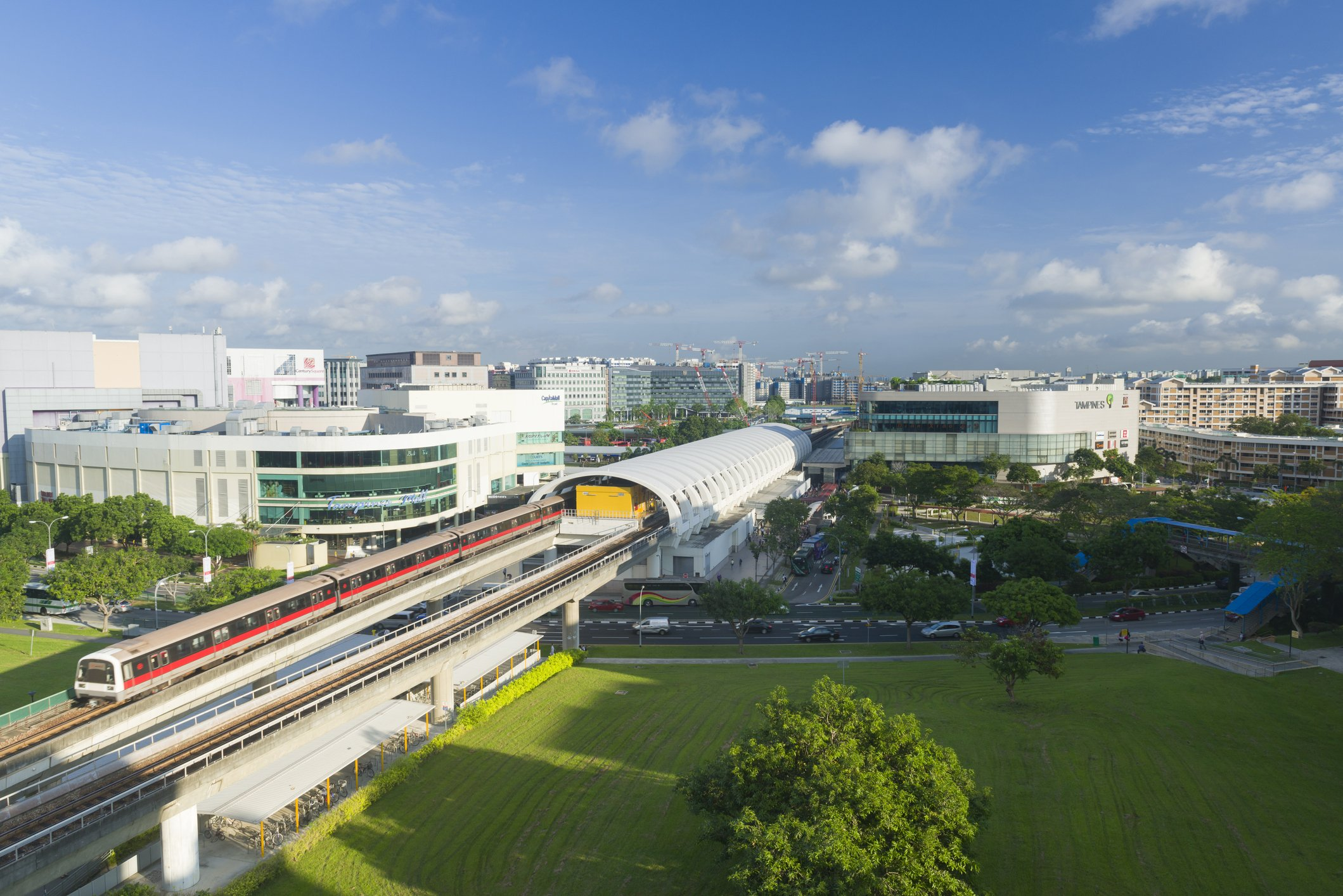treasure at tampines is close to 5 mrt stations