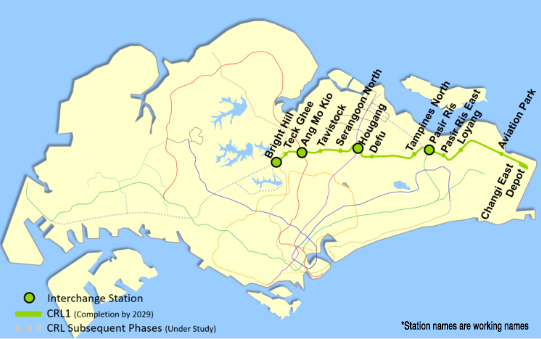 the cross island line is set to increase connectivity to affinity at serangoon