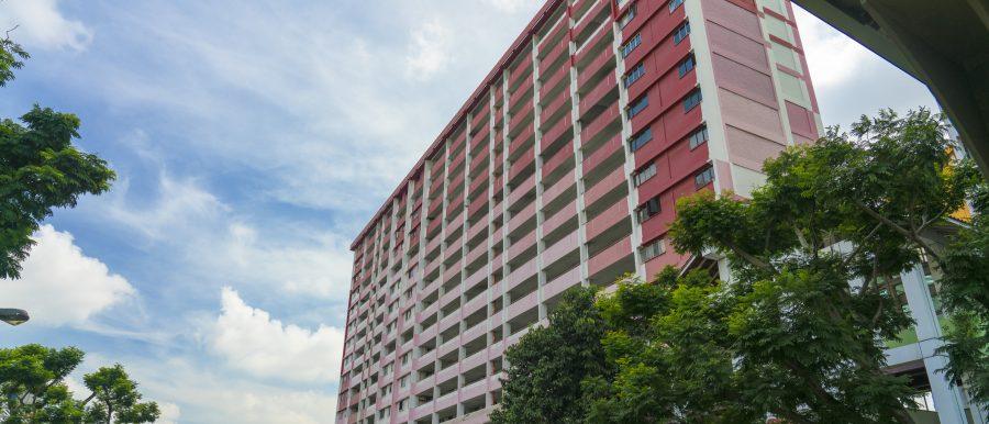Block of HDB flats