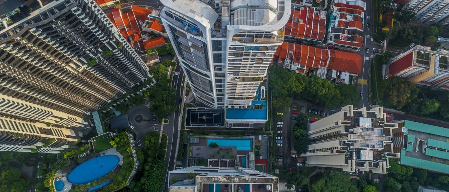 Rise in rental rates and volume of condos and HDB units