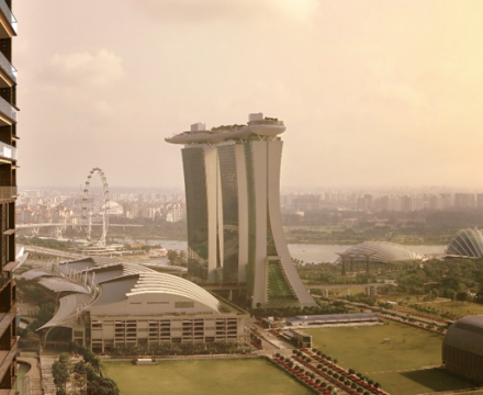 residents at marina get to enjoy the marina bay view
