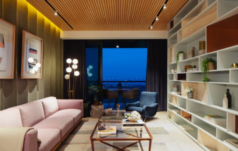 the interior of homes at marina one residences are luxurious and spacious