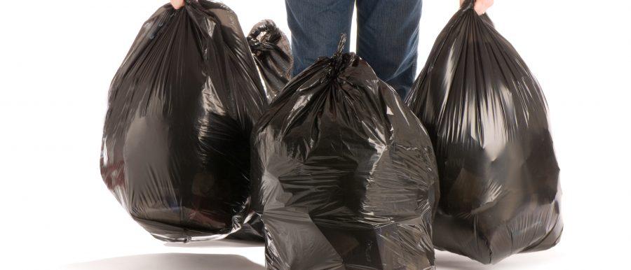 Bagging your tenants trash