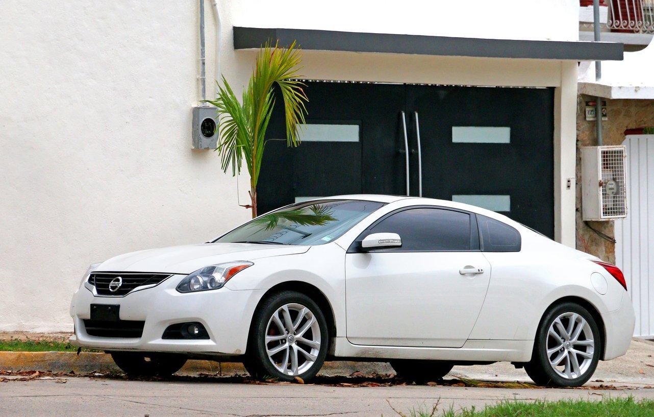car outside of house