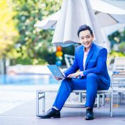 Aaron Wan is a successful property agent