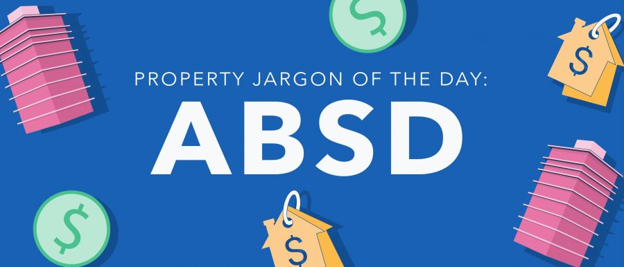 Property Jargon: ABSD