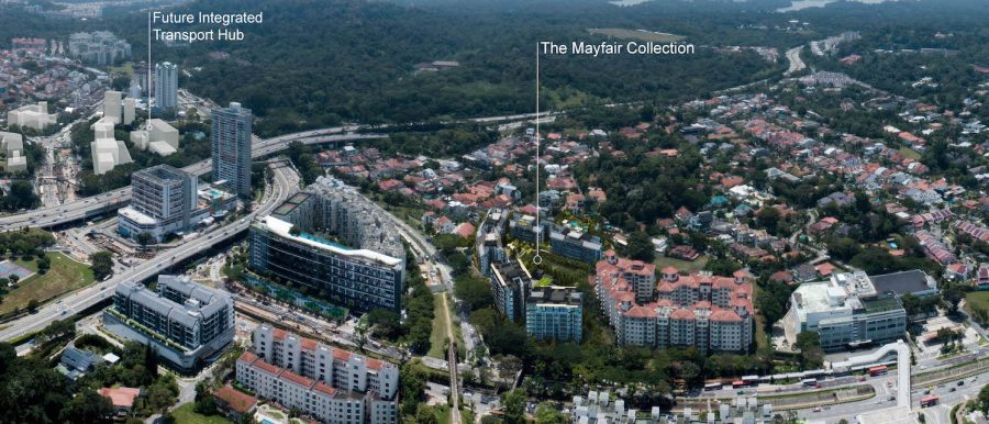 the mayfair collection lies in close proximity to the future beauty world integrated transport hub