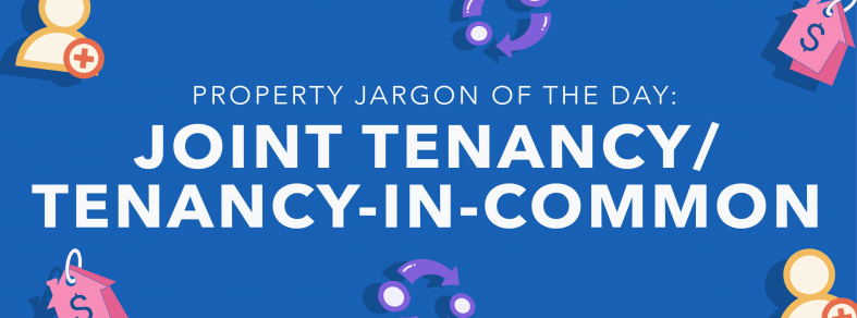 Property jargon of the day: Joint Tenancy/Tenancy-in-common