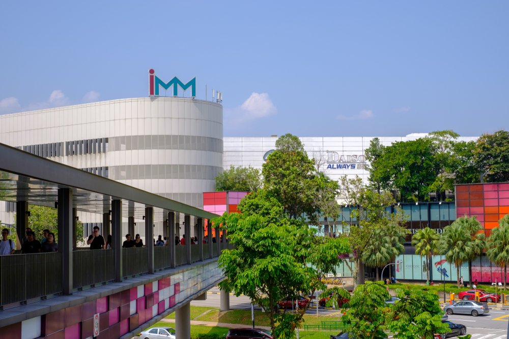 The exterior of IMM.