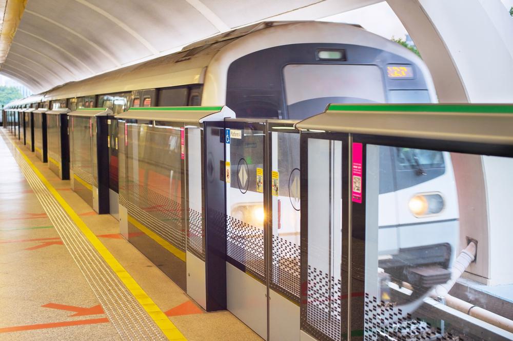 Singapore MRT train.