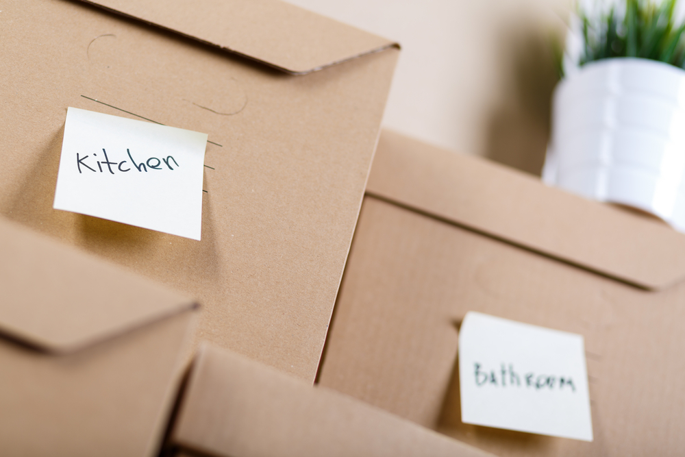 Labelled boxes.