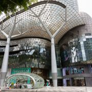 ion orchard singapore exterior showing some retail stores