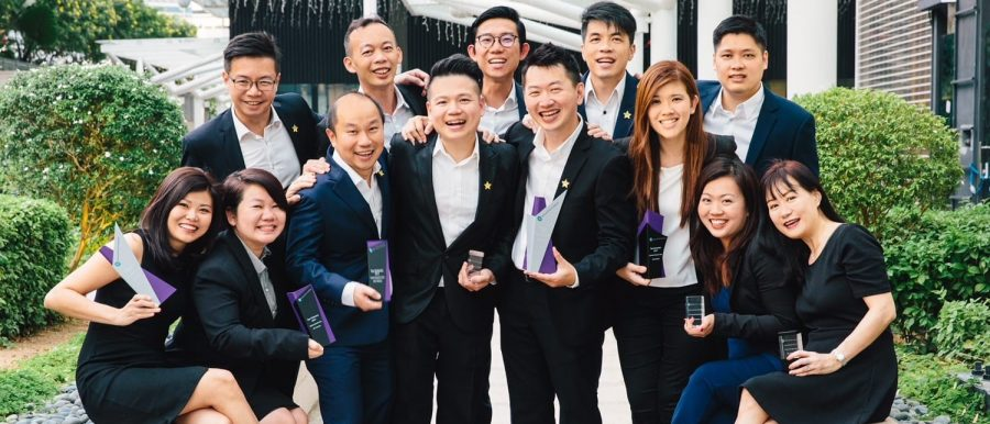 Matthias Chia with Team Genesis awarded Edmund Tie & Company's Top Team of 2017 (featured photo)