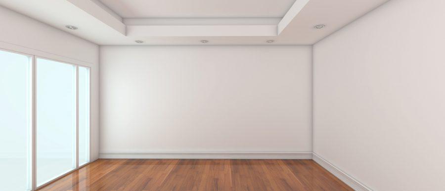 An empty room.