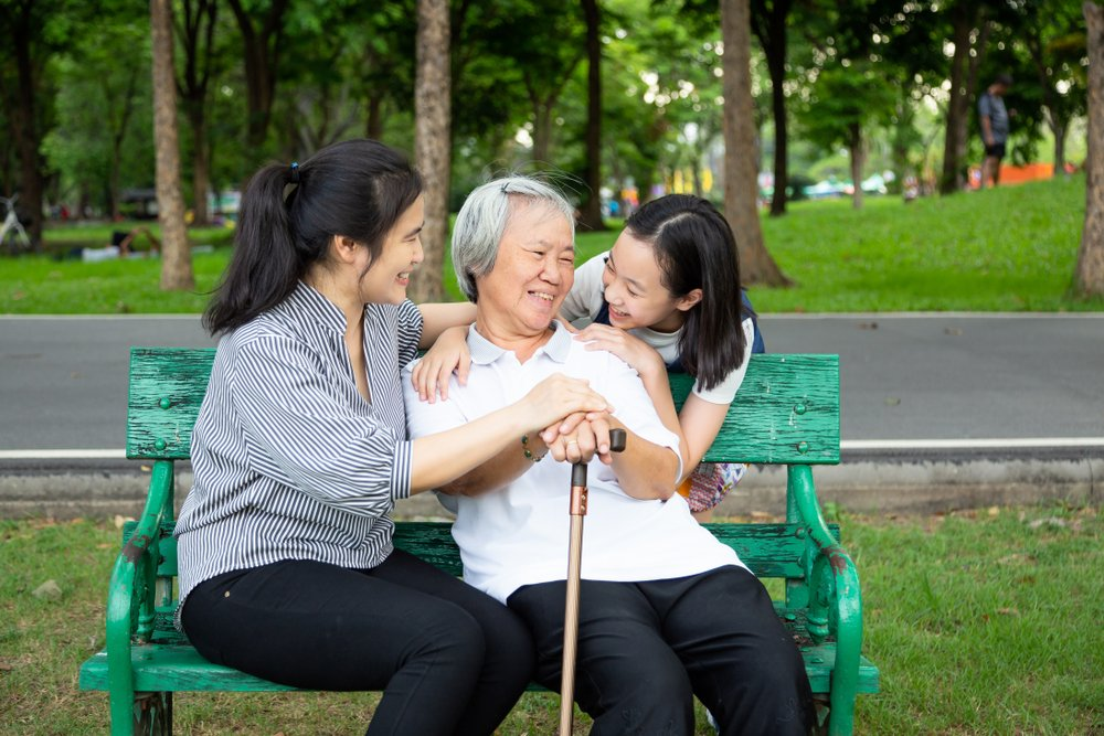 spending time with your elderly family