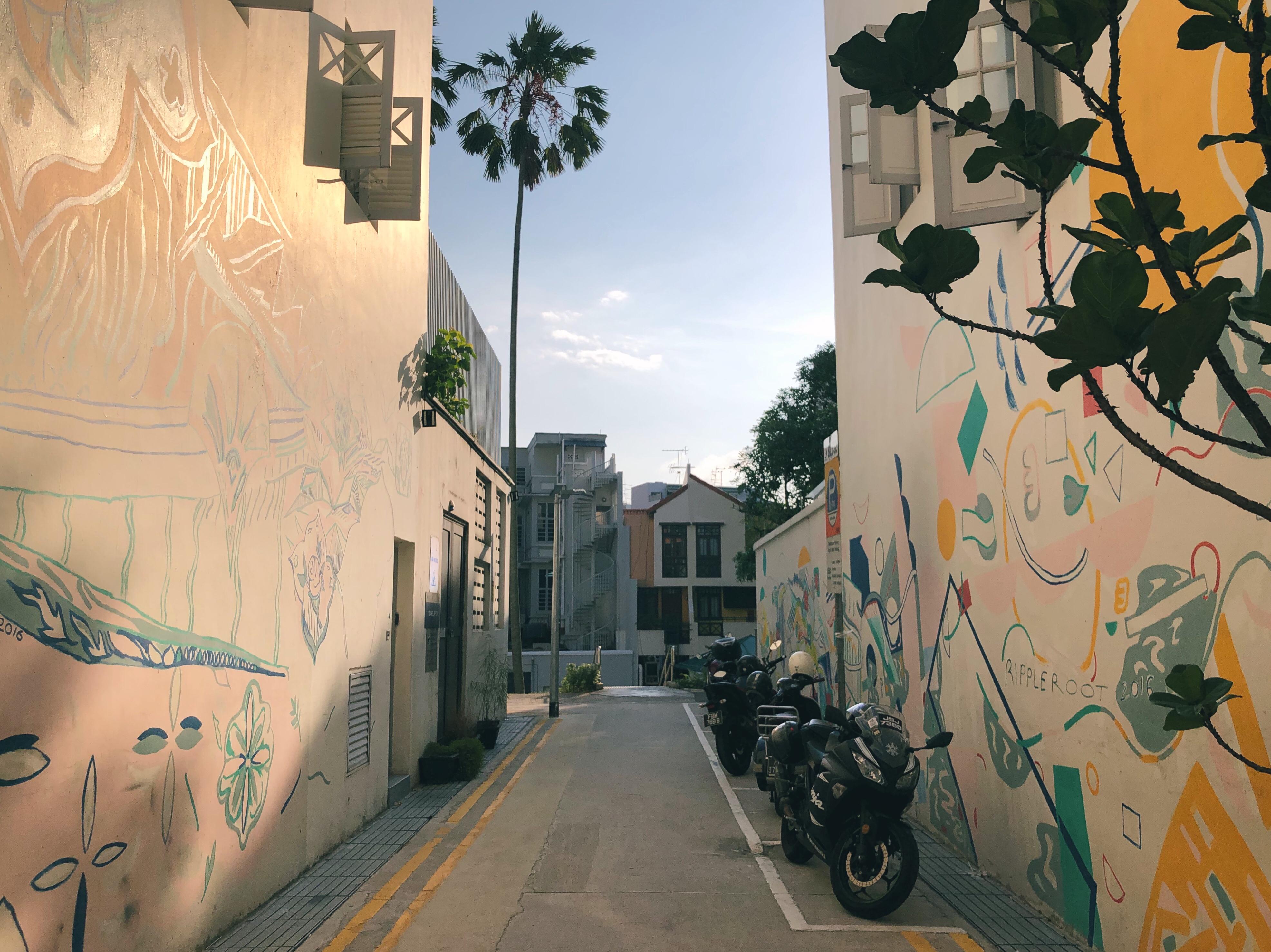 Alley in Keong Saik