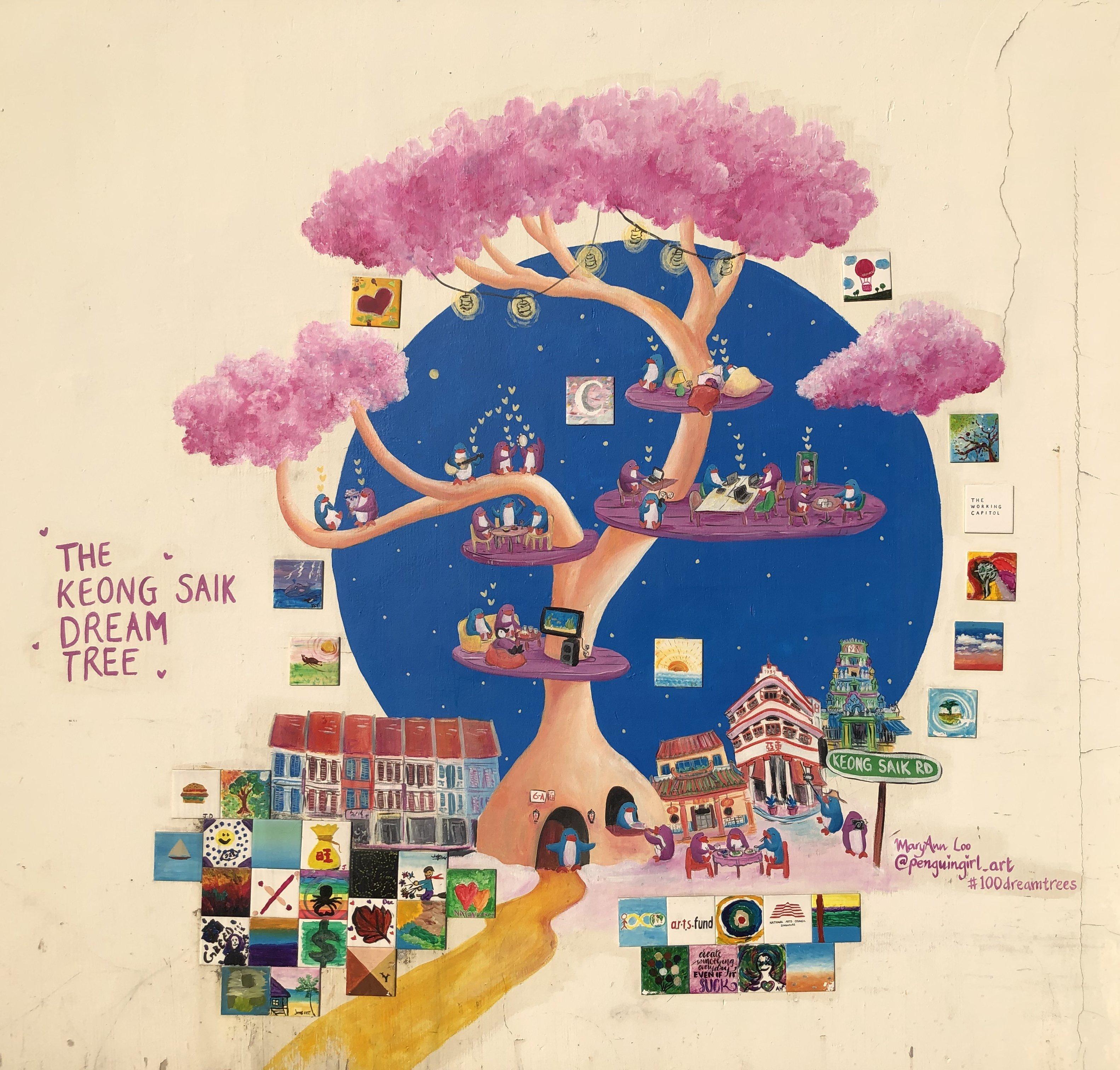 Keong Saik Dream Tree