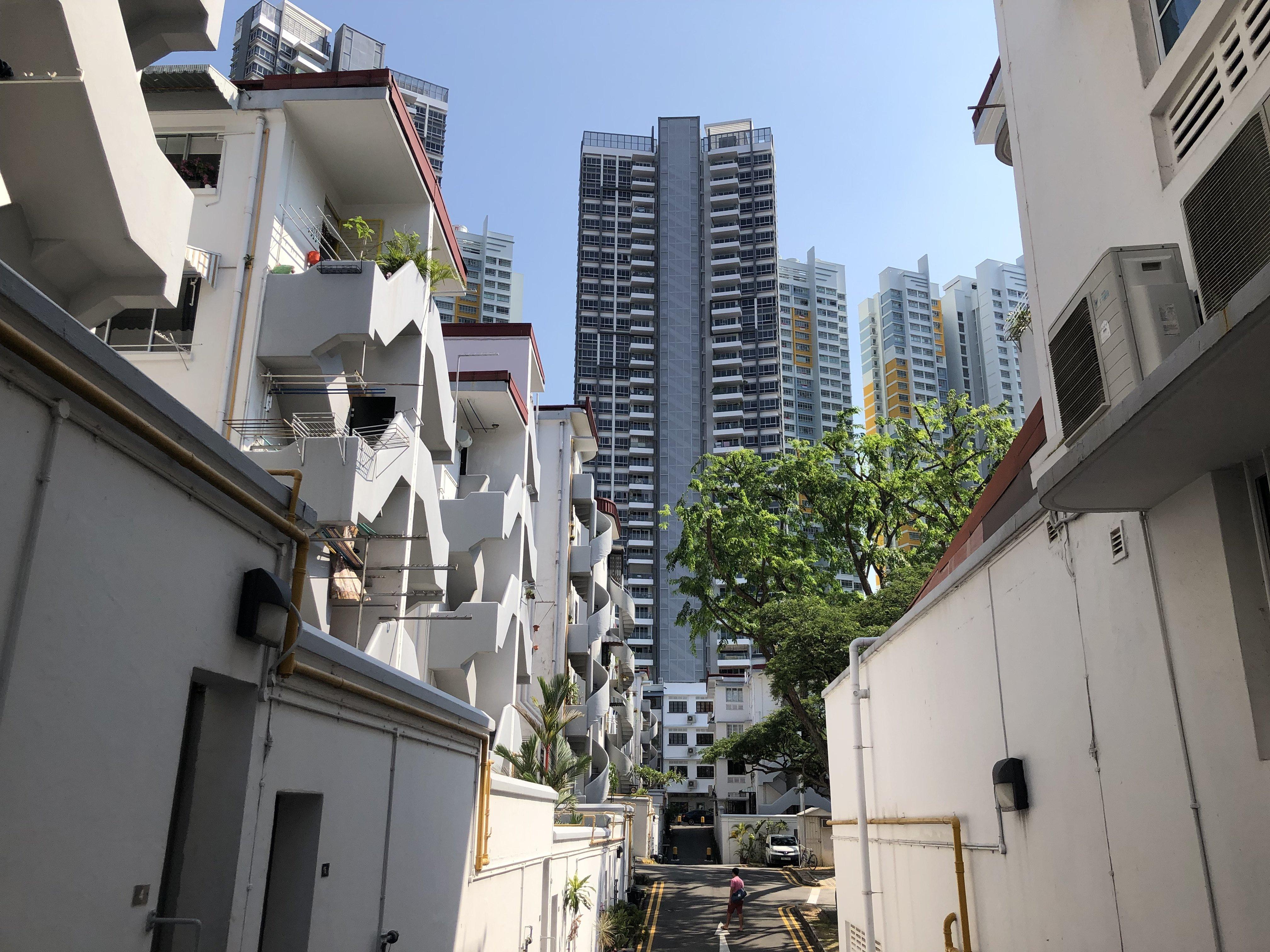 Back Alley in Tiong Bahru