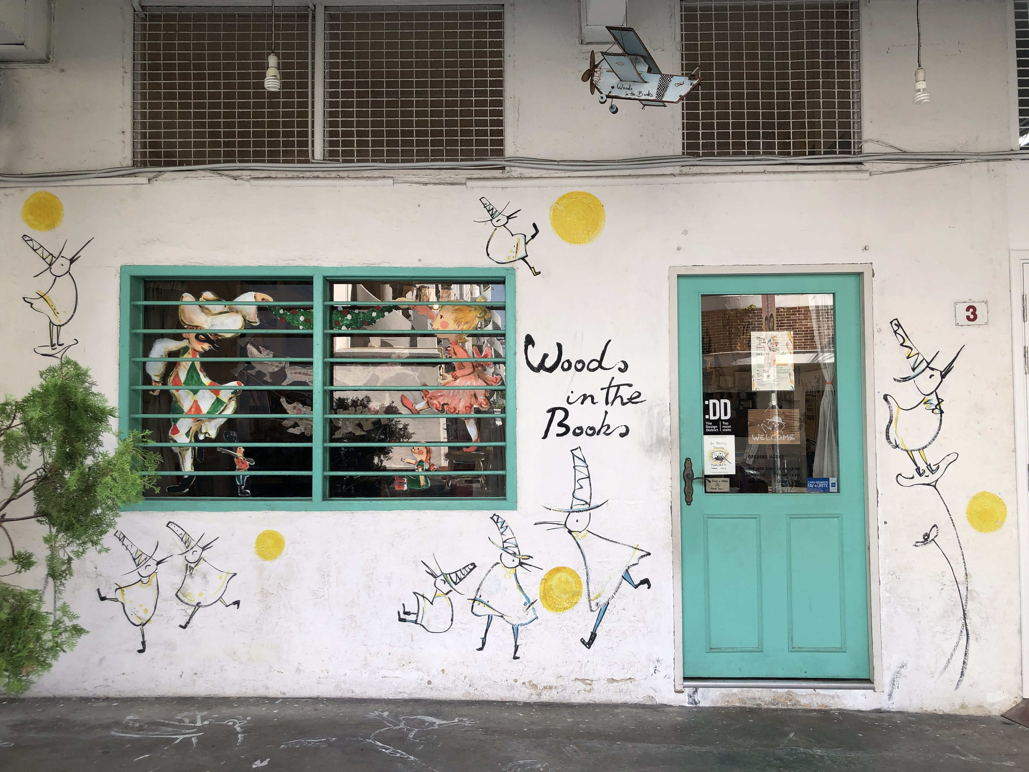 Woods in the Books Tiong Bahru