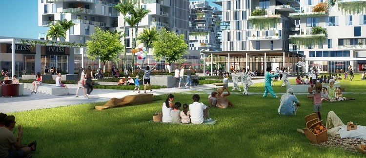 Communal parks in Bayshore