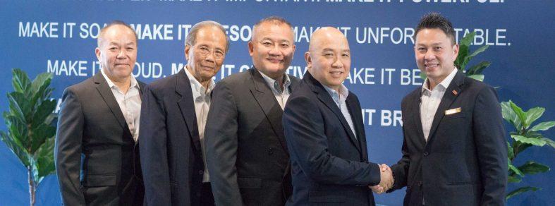 David Huan and associates with Jason Hew
