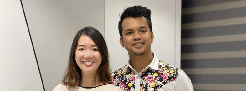 Grace Cheong and Azhar Sulaiman