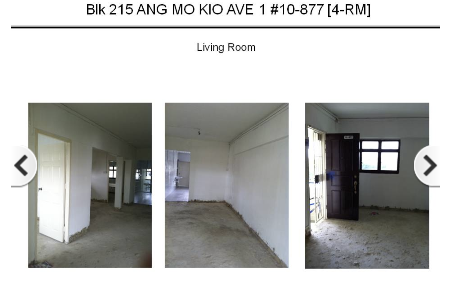 hdb open booking of flats interior condition
