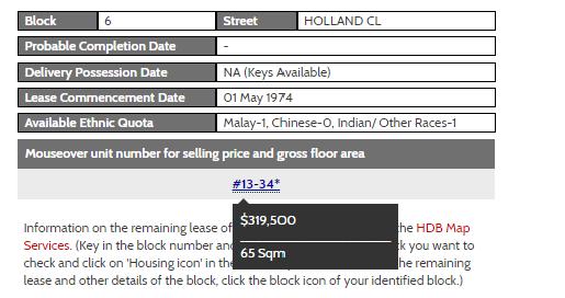 hdb open booking of flats holland close