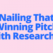 Nailing That Winning Pitch With Researcher