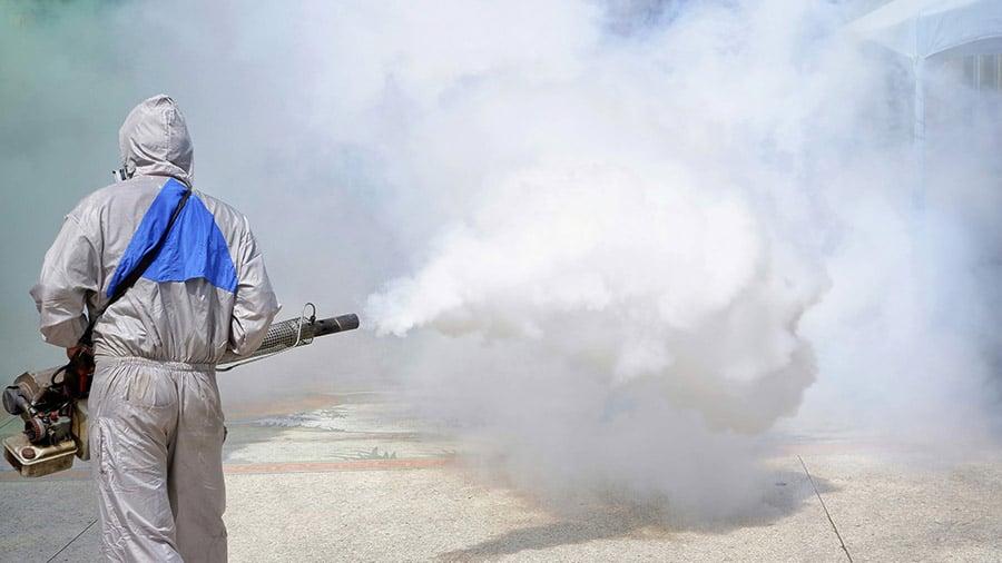 dengue fever fogging