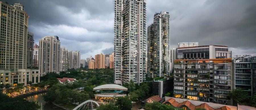 rent rental down recession singapore