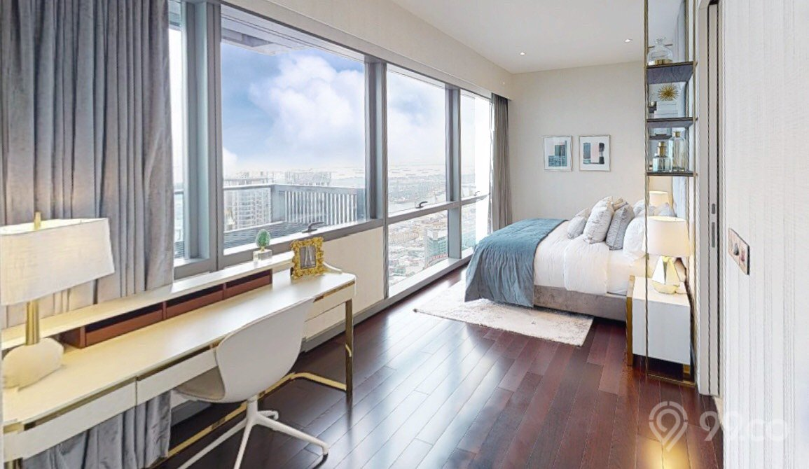 wallich residences penthouse common bedroom