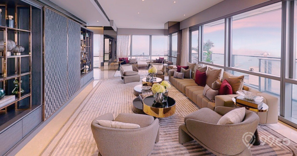 wallich residences james dyson penthouse living room
