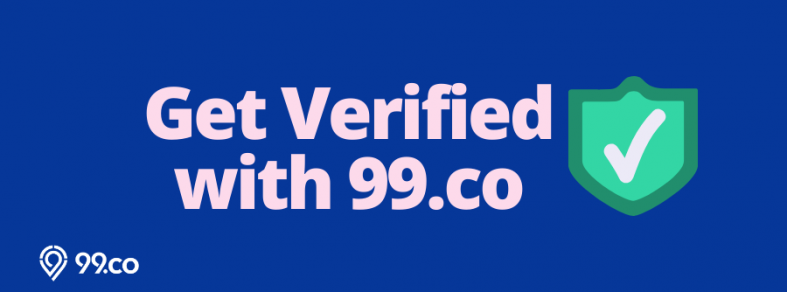 Get Verified with 99.co