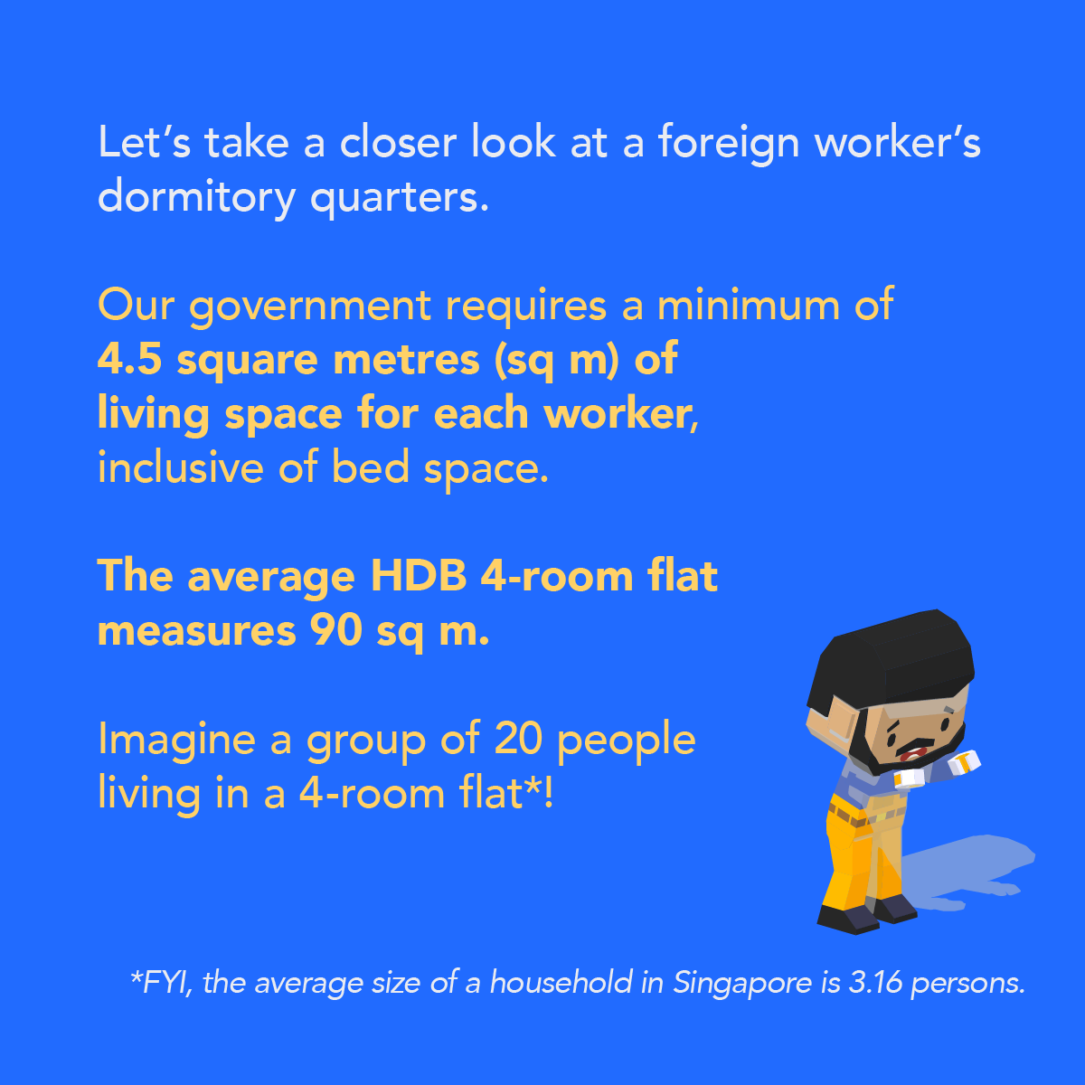 foreign worker dormitory living space singapore infographic 7