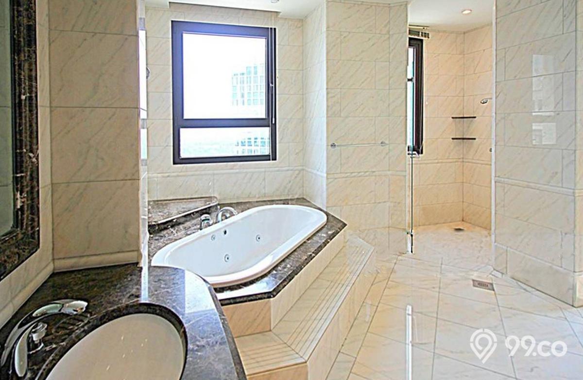 ardmore park penthouse master bathroom