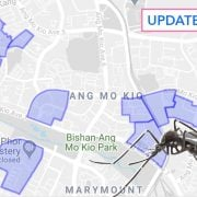 dengue cluster singapore map