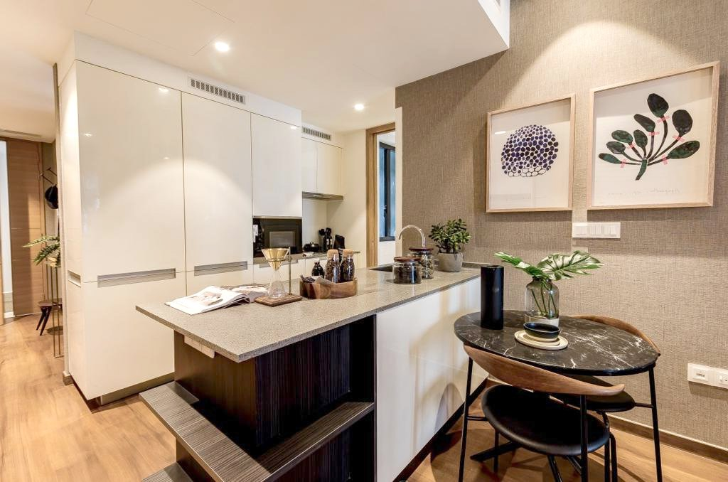 marina one residences kitchen romeo tan