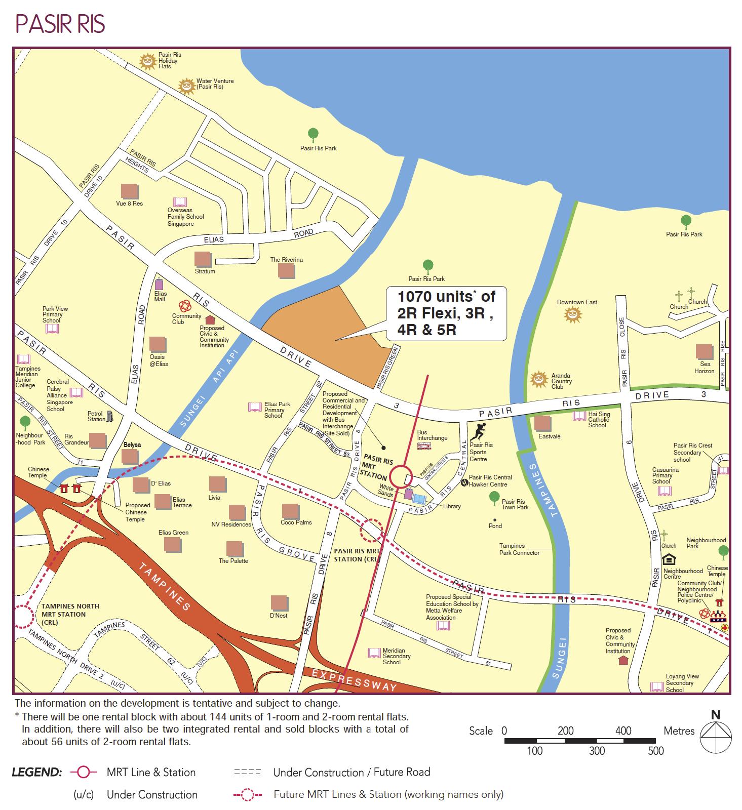 pasir ris hdb bto august 2020 map hires