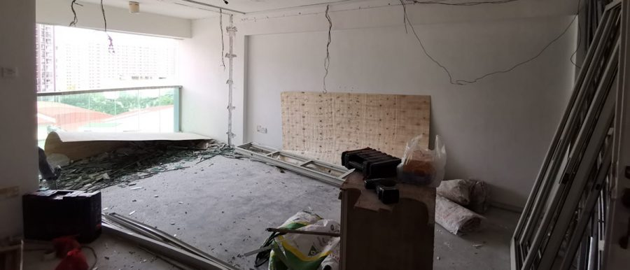 renovation issues hdb punggol circuit breaker