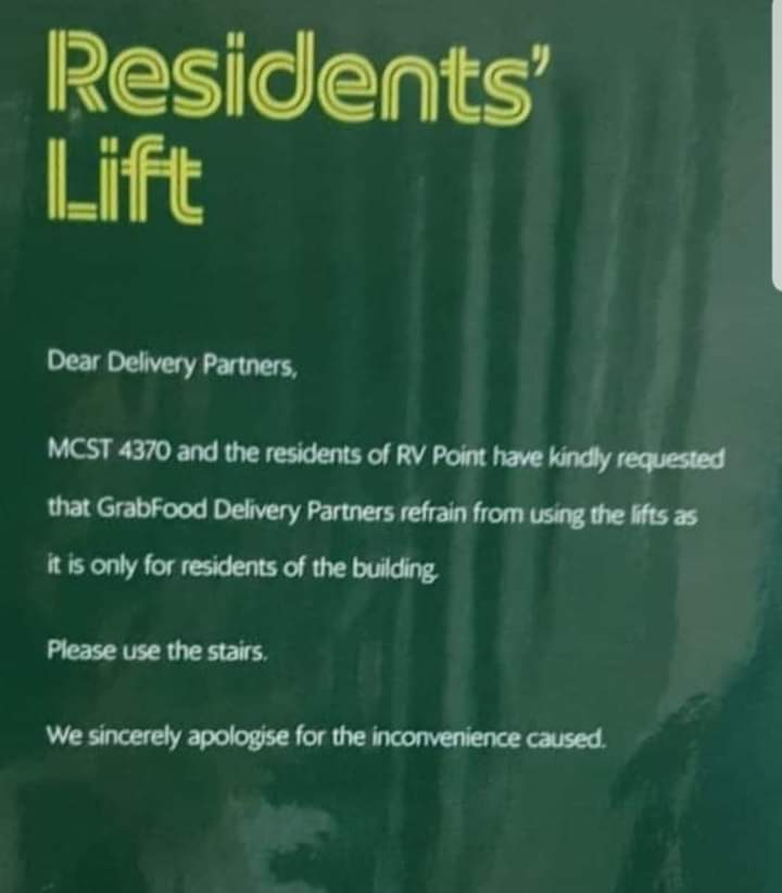 rv point delivery rider grabfood ban lift