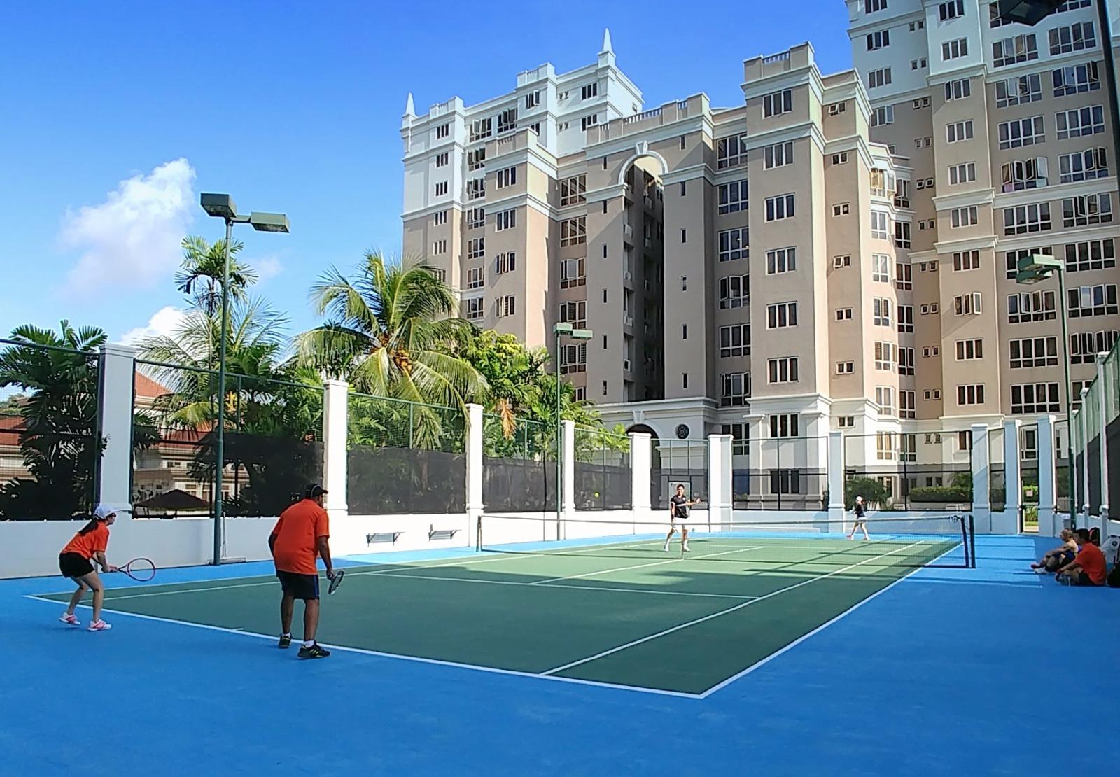 castle green tennis court